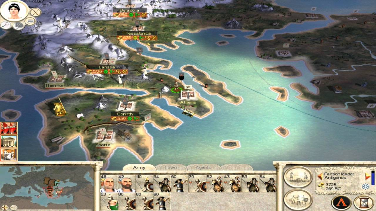Build Army Empire Total War