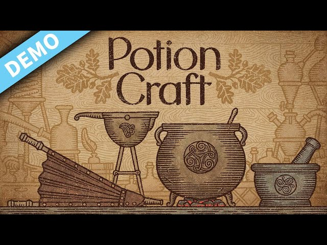 New Indie Alchemy Simulator with epic physics | Potion Craft | PC DEMO
