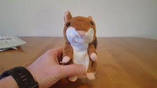 Говорящий Хомяк Игрушка / Talking Hamster Plush Toy