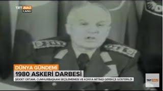 12 Eylül 1980 Askeri Darbesi - O Gün Neler Yaşandı? - TRT Avaz