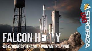 Start Falcona Heavy zaplanowany na 6 lutego  - Astro Live