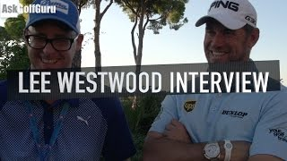 Lee Westwood Interview Turkish Airlines Open
