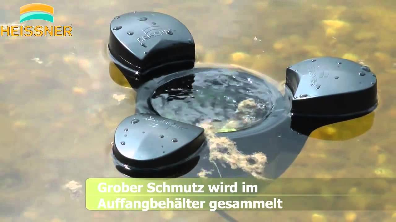 Skimmer estanque con bomba heissner youtube for Piscinas ferromar