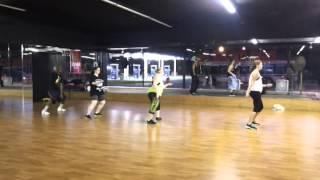 Haterz Shuffle Z-Line Dance Fitness with Theresa Bielefeldt & Deryl Thomas