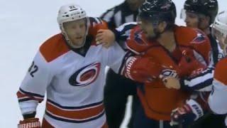 Versteeg Slashes Kuznetsov After Getting Hit (10/17/15)