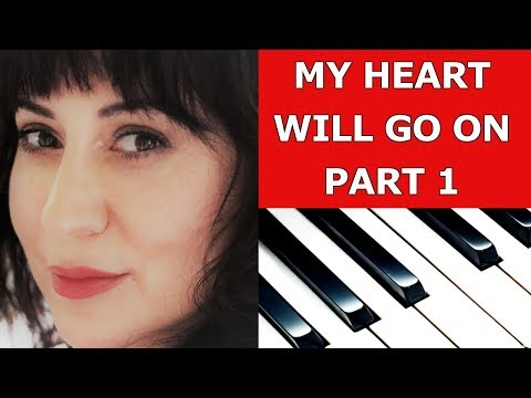 My Heart Will Go On (Titanic) Easy Piano Tutorial Part 1/Sheet Music