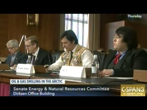 Congressional Hearing On Drilling For Oil In The Arctic