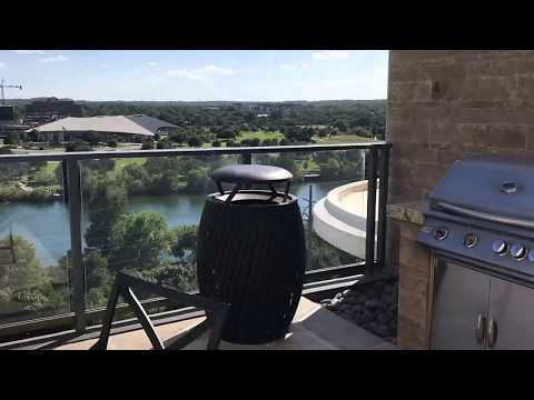 The North Shore Apartments Austin For Lease Pool and Amenities Center 311 Bowie St Austin TX 78703