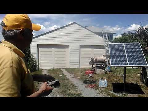 Solar Powered Denver Gold Saver Setup Described