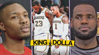 """LeBron WANTS Lillard In LA, BUT..."", Dame On Relationship With LeBron And The Lakers"