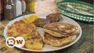 Berlin'de tipik Amerikan kahvaltısı - DW Türkçe