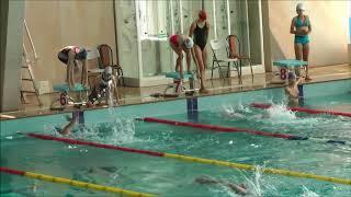 Плавание эстафета девушки