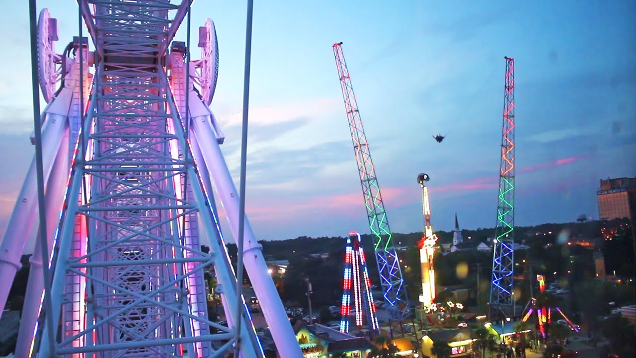 Myrtle Beach Skywheel Tourist Attraction In South Carolina