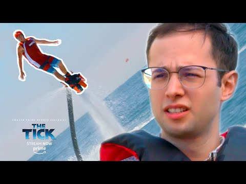 Thumbnail: Normal Dude Flies A JetPack On Water