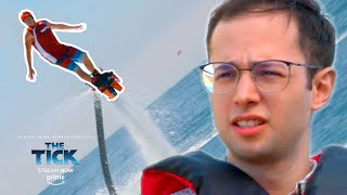 Normal Dude Flies A JetPack On Water