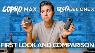 GoPro MAX FIRST LOOK vs. Insta360 ONE X - ROLLERBLADING FAIL