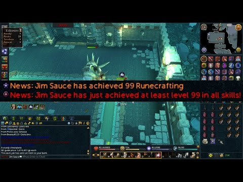 Runescape: Achievement Unlocked - Max Cape