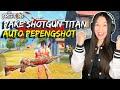 PAKE SHOTGUN TITAN , 2X HIT MUSUH AUTO MENINGGOY - FREE FIRE INDONESIA