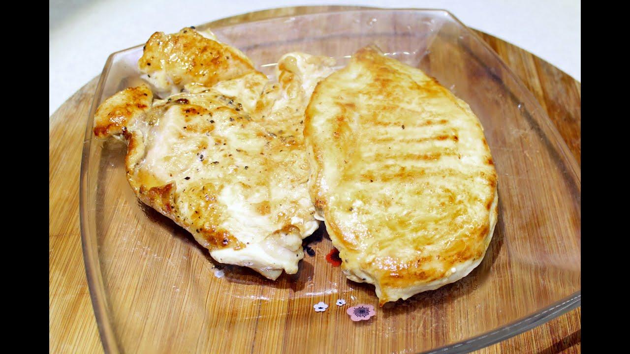 как приготовить стейк из курицы на сковороде