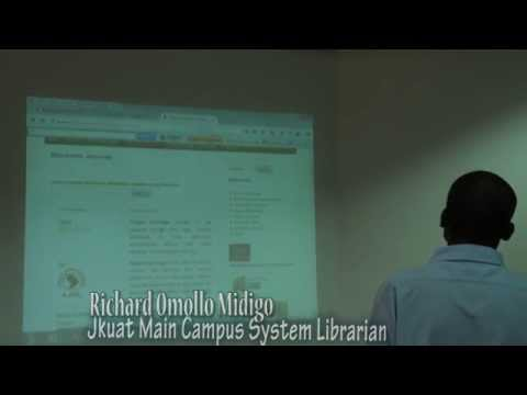JKUAT DIGITAL LIBRARY SERVICES