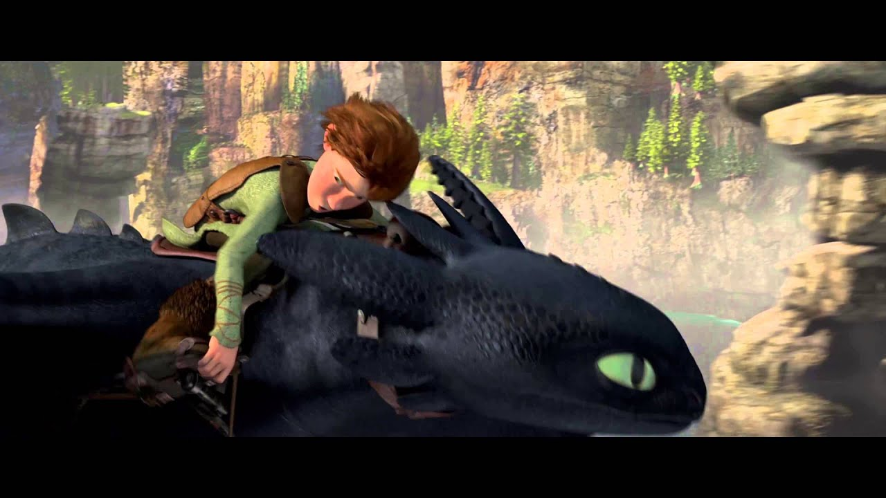 How to train your dragon test drive scene 4k hd youtube ccuart Gallery