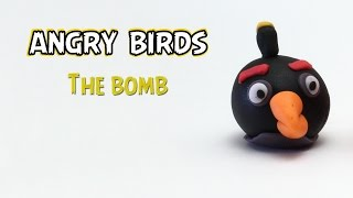 Angry Birds - The Bomb Making from fondant and Gum Paste
