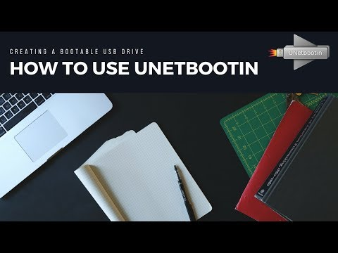 How to use UNetBootin