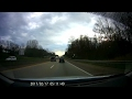 Rear View Mirror in Car Camera Review - Dash Cam and Driving Footage - AUTO VOX M3