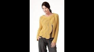 Вязание Спицами: Свитера, Кофты - выставка работ 2019 / Knitting Sweaters / Strickpullover Pullover