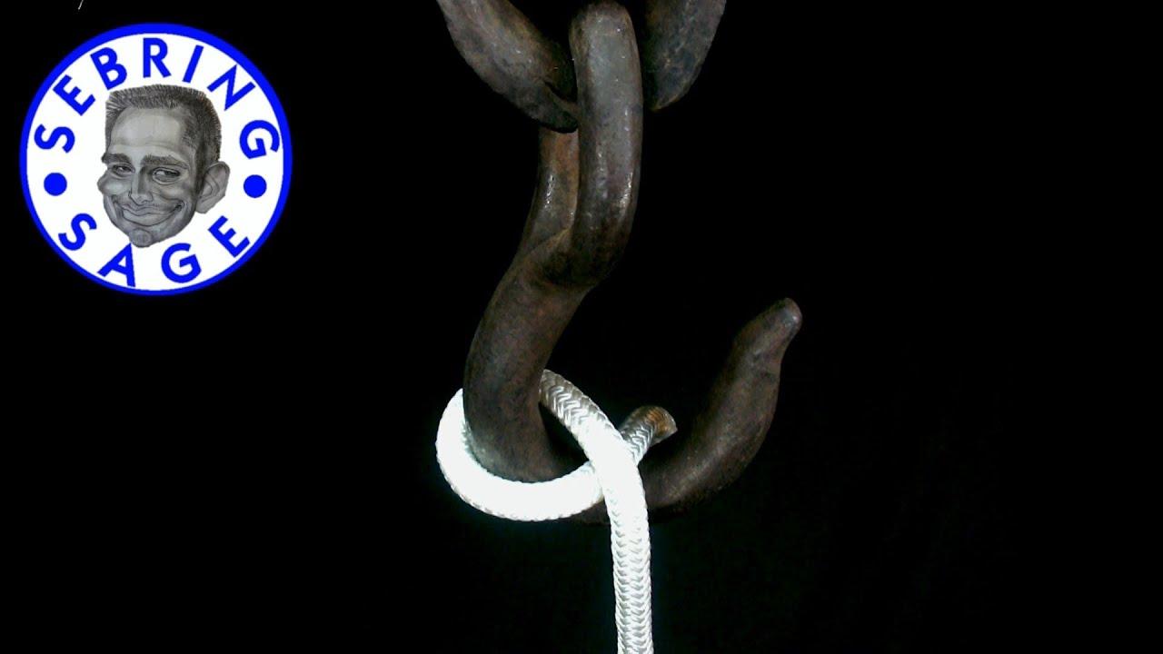 Blackwall hitch knot
