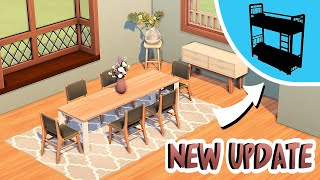 NEW FREE UPDATE! 21 NËW ITEMS... and bunkbeds? 👀 (FEBRUARY UPDATE) | The Sims 4 Update News