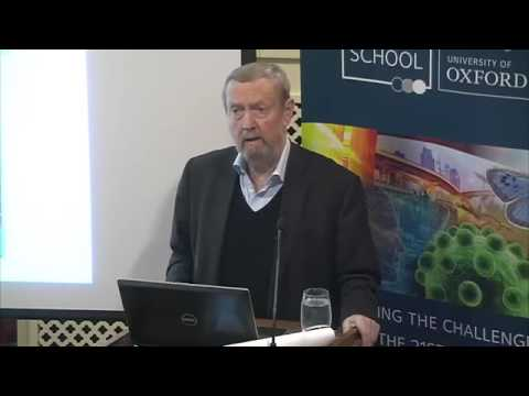 The Perfect Storm: Food, energy, water security and climate change: Sir John Beddington