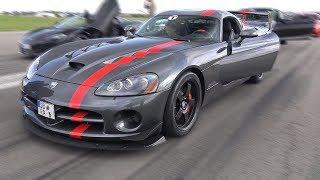 Dodge Viper SRT-10 Coupé ACR vs Novitec N-Largo vs AMG GT S vs M3
