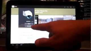 View IP Camera on Android Tablet- Home or Business Security Cameras