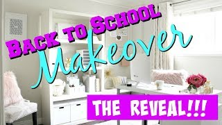 BACK TO SCHOOL ROOM MAKEOVER 2018 || THE REVEAL || Taylor and Vanessa
