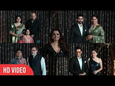 Geeta Basra, Sameera Reddy, Madhur Bhandarkar, Shabana Azmi at Priyanka-Nick Wedding Party