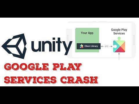 Unity Bug- Google play services crash on start