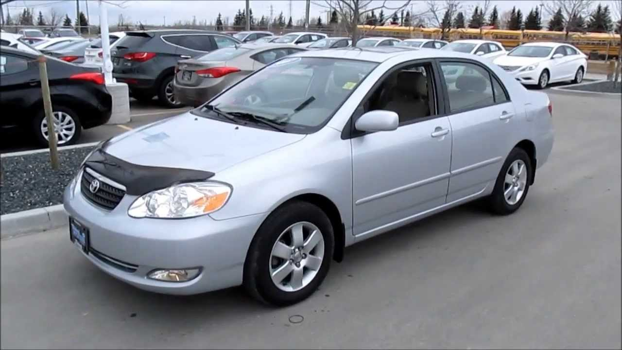 2007 Toyota Corolla LE Start Up, Walkaround And Vehicle Tour   YouTube