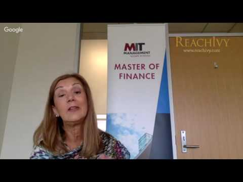 ReachIvy Exclusive - Know Your Top College Series: Webinar With MIT Sloan - MFin