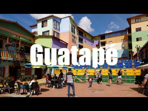 GUATAPE PUEBLO DE ZOLACOS, Antioquia, Colombia - 4K UHD - Virtual Trip