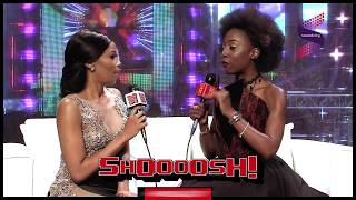ROCKSTAR VJ MALAIKA INTERVIEWS #NAMA2017 HOST BONANG | SHOOOOSH!