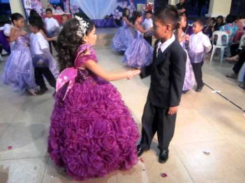 Margaux Loureen Canlas 7th Birthday Cotillion Dance Youtube