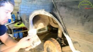 Ремонт кузова без сварки  Удаление ржавчины с арки ваз 2110  Ремонт арок(, 2016-08-04T14:33:44.000Z)