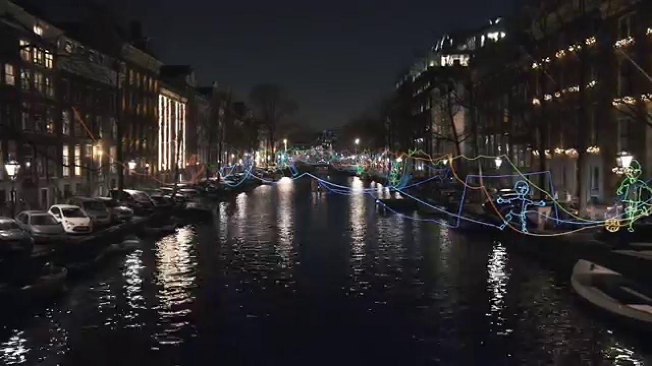 Lovers Canal Cruises Amsterdam Light Festival Youtube