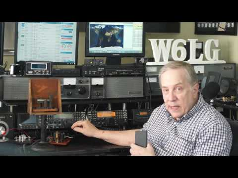 Ham Radio Basics--Telegraph Sounder & Straight Key Demonstration