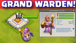 Grand warden full information|| clash of clans|| in hindi