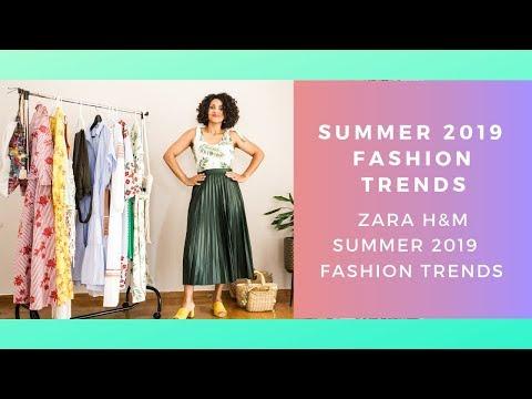 Summer 2019 Fashion Trends
