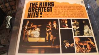 THE KINKS - TILL THE END OF THE DAY - GREATEST HITS LP RECORD
