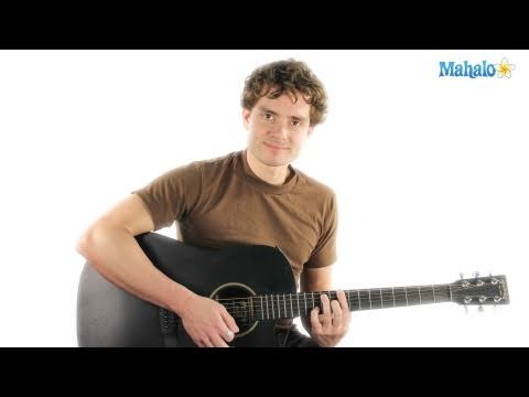 How to Play an A Major Seven (Amaj7) Chord on Guitar