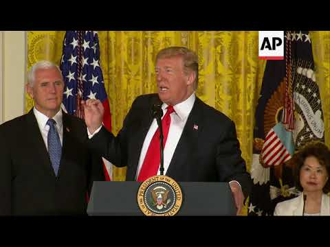 Trump Announce Creation of 'Space Force'